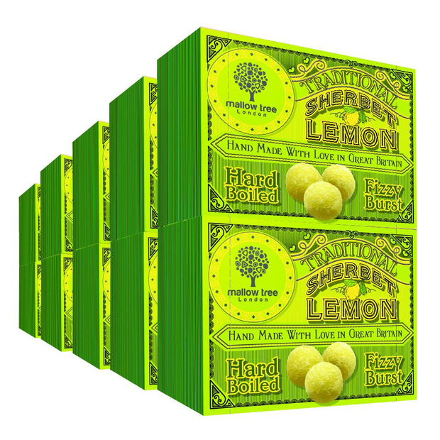 Traditional Sherbet Lemons in a Snack Box X10 RJF Farhi