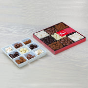 Chocolate Almond and Nougat Selection in a Nine-Way Gift Box RJF Farhi
