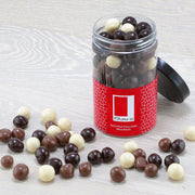 Assorted Chocolate Coated Hazelnuts in a Gift Jar RJF Farhi