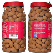 Rita Farhi Cinnamon Dusted Milk Chocolate Coated Almonds in a Gift Jar RJF Farhi