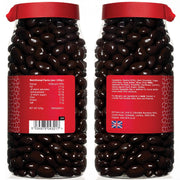Rita Farhi Dark Chocolate Coated Raisins in a Gift Jar RJF Farhi
