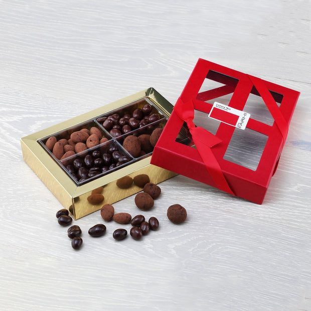 Luxury Chocolate Coated Nut Selection in a Gift Box RJF Farhi
