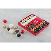 Rita Farhi Luxury Truffle and Foiled Praline Balls Mix in a Gift Box
