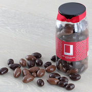 Milk and Plain Chocolate Coated Brazil Nuts in a Gourmet Gift Jar RJF Farhi
