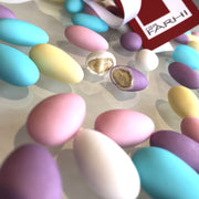 Pastel Colour Sugared Almonds in a Gift Tin RJF Farhi
