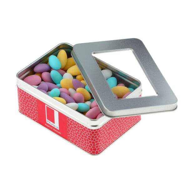 Rita Farhi Pastel Colour Sugared Almonds in a Gift Tin RJF Farhi