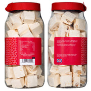 Rita Farhi Traditional Almond Nougat in a Gift Jar RJF Farhi
