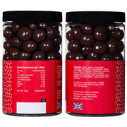 Farhi Dark Chocolate Covered Ginger in a Small Gift Jar Rita Farhi