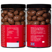 Farhi Milk Chocolate Coated Almonds in a Small Gift Jar (WRONG INGREDIENTS) RJF Farhi