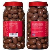 Rita Farhi Milk Chocolate Coated Brazil Nuts in a Gift Jar RJF Farhi