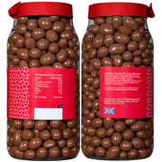 Rita Farhi Milk Chocolate Coated Peanuts in a Gift Jar