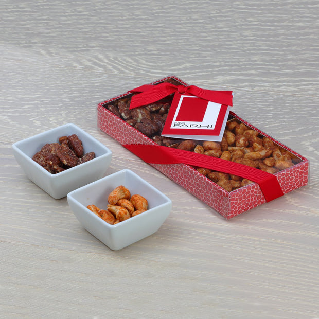 Luxury Small Nut Selection (Pecan & Peanut) in a Gift Box RJF Farhi