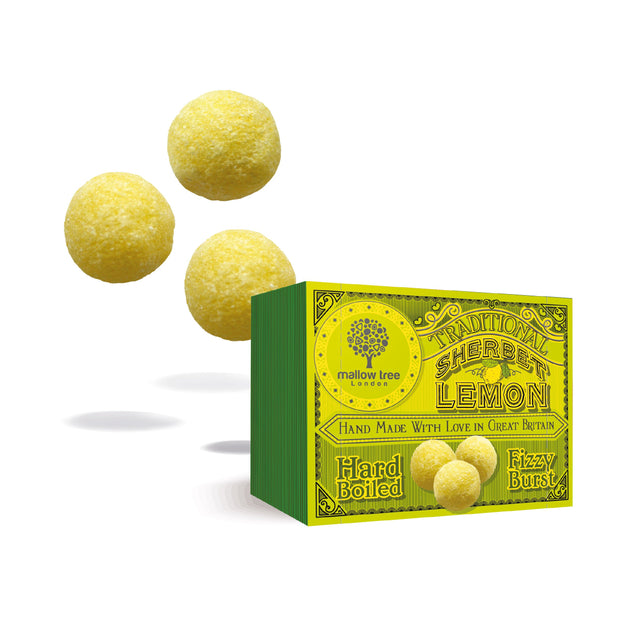 Traditional Sherbet Lemons in a Snack Box RJF Farhi