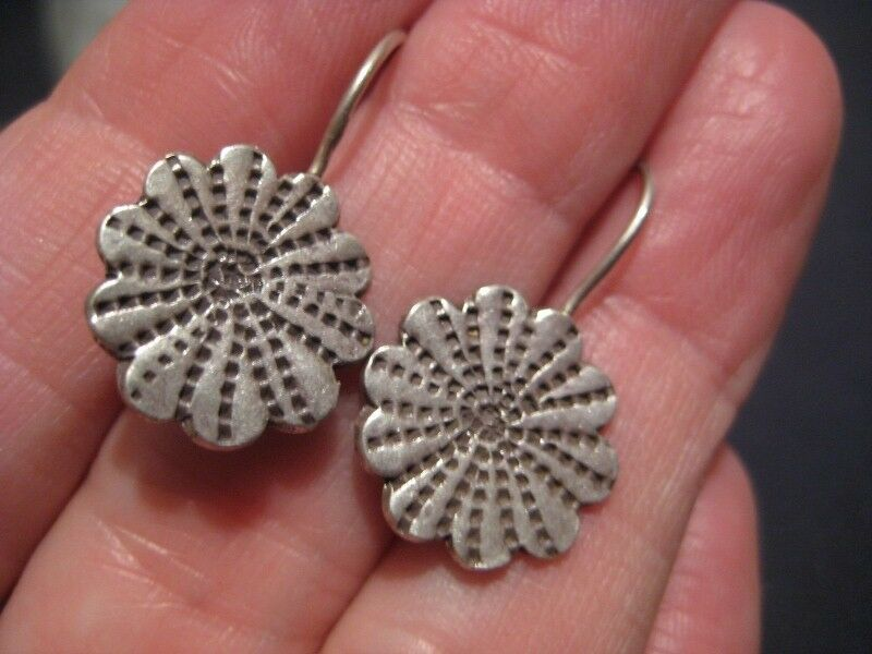 999 Pure Silver hill Tribe earrings earrings ear ring Northern Thailand N2744