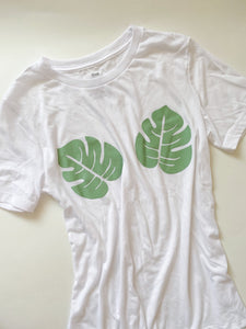 Women's Monstera Tee | Haupia