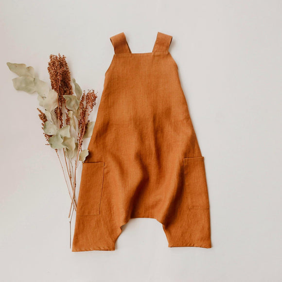 Pocket Romper | Copper