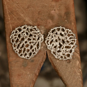 Bridal Veil Stinkhorn Earrings