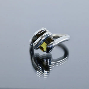 Twisty Besel Lolly Zultanite Ring