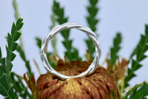 Woven Braid Band Groupie Ring