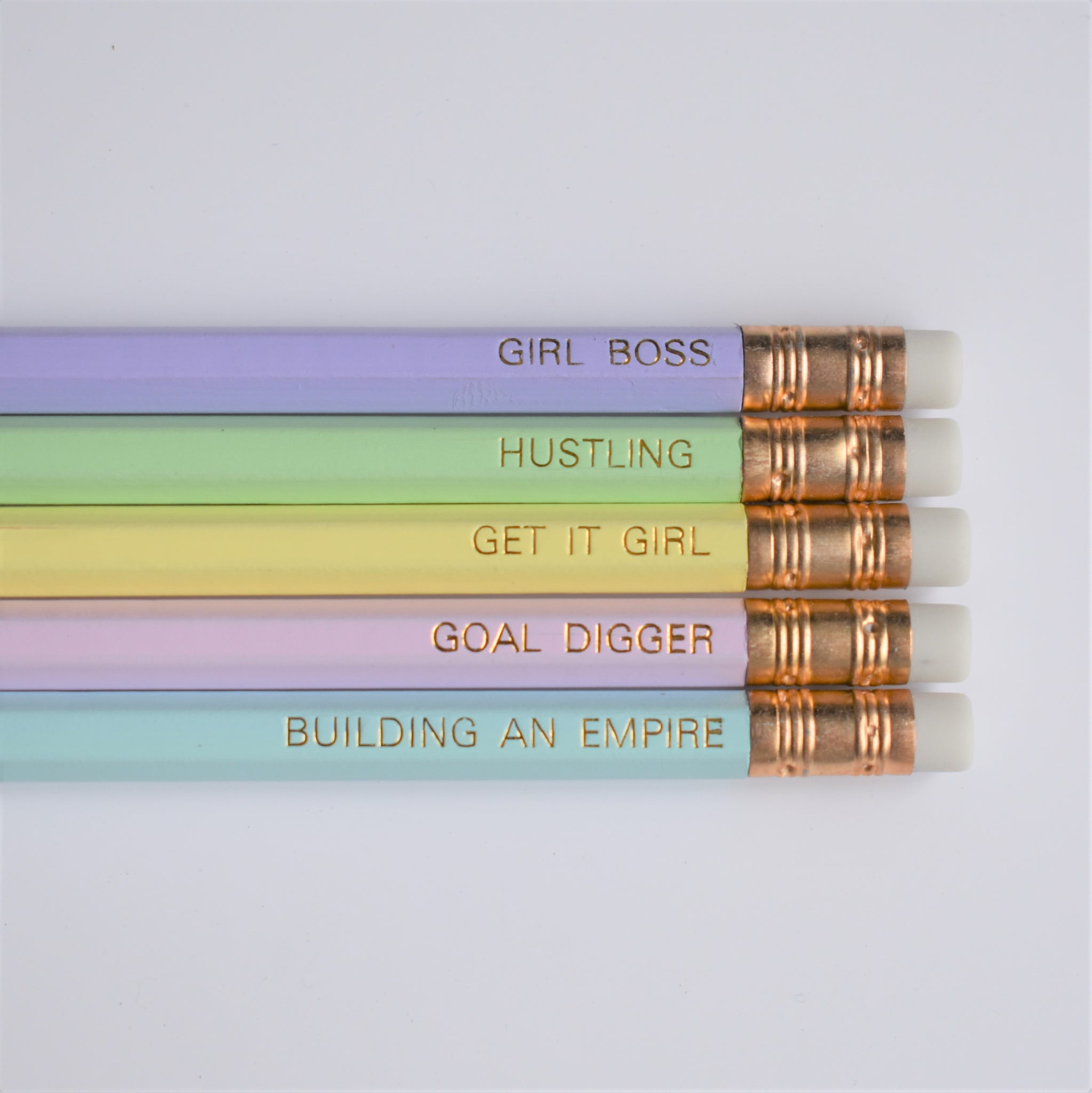 Girl Boss Luxury Pencil Set