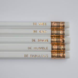 Motivational Luxury Pencil Set