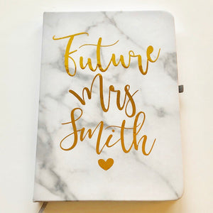 Future Mrs Marble Notebook