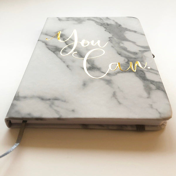 You Can Marble Notebook