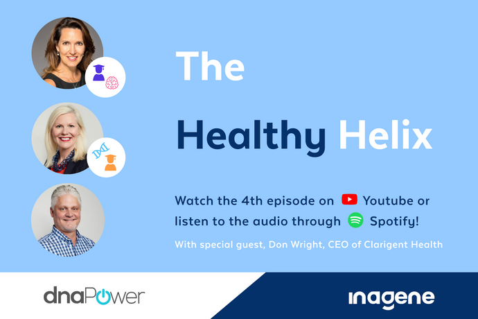Inagene Diagnostics Inc. and dnaPower release Episode 4 of The Healthy Helix: Innovative Tools Supporting Mental Health Management