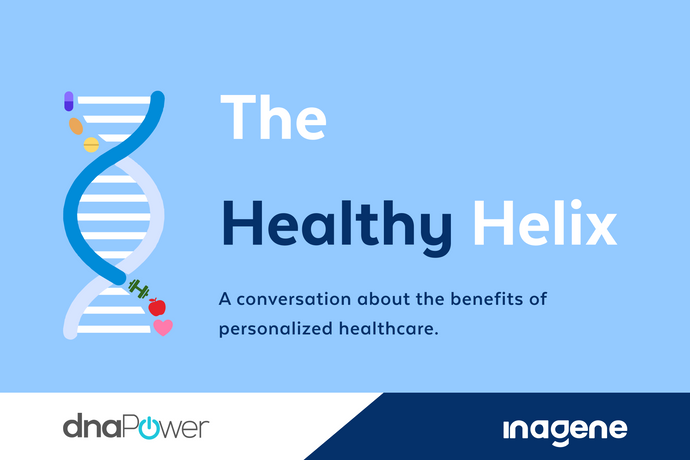 Inagene Diagnostics Launches the HealthyHelix: First Episode on Personalized Healthcare