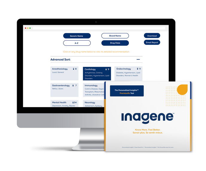 "Inagene launches NEW Personalized Insights™ PrecisionRx: the ""other test"" that can help protect your health"