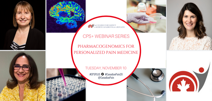 Canadian Pain Society Webinar Highlights the Promise of Pharmacogenetics for Personalized Pain Medicine