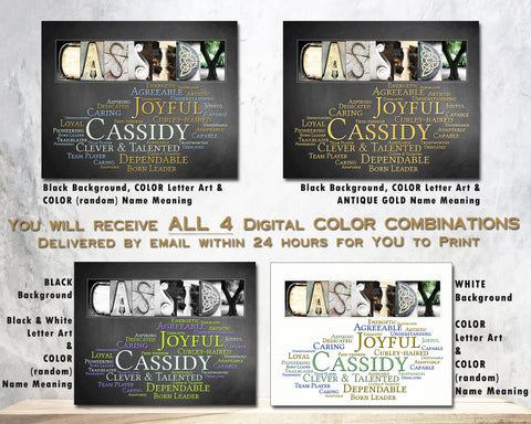 Cassidy Name Meaning Art