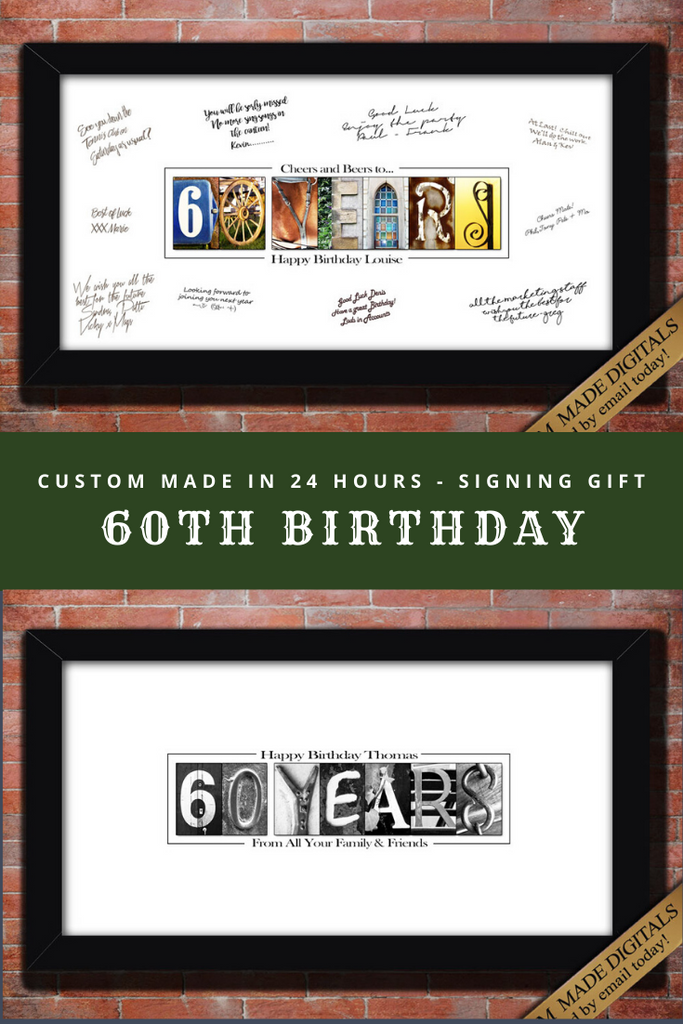 60th Birthday Gifts for Women, Moms 60th Birthday Gift for Mom, 60th Birthday Poster, 60th Birthday Decorations, 60th Birthday Ideas