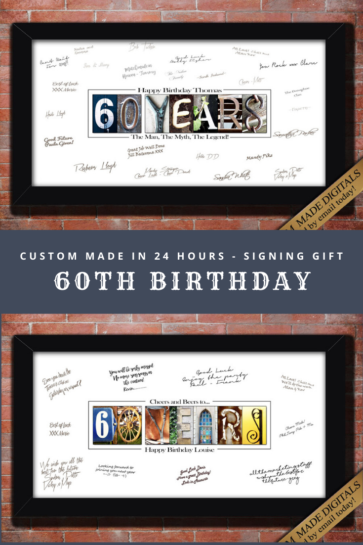60th Birthday Gift For Men 60th Birthday Decoration For Men 60th