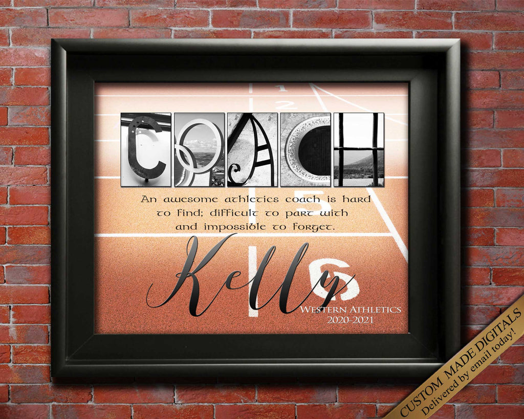 athletics coach gift