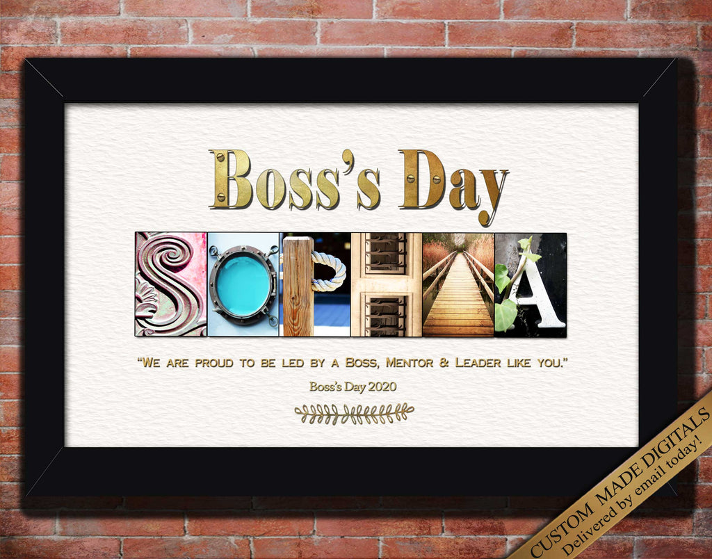 Unique Gift For Boss Day 2020, Boss's Day Gift Idea Personalized Boss Gift Christmas Gift Ideas