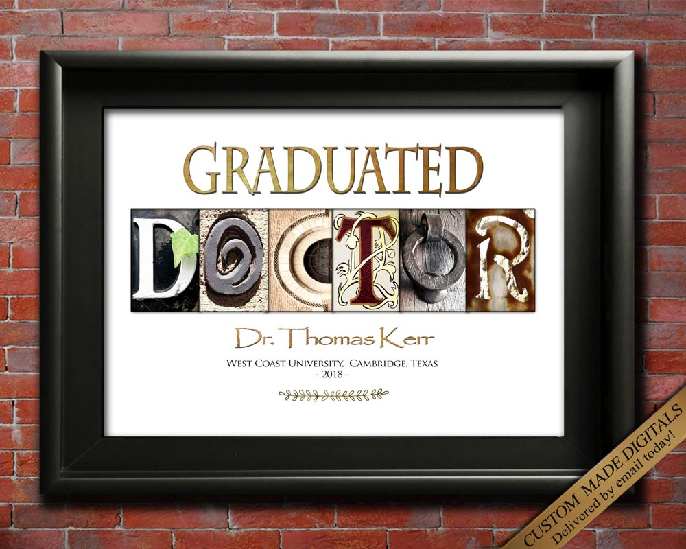 Personalized Doctor Gift, Doctor Gift Ideas, Doctor Retirement Gift, Doctor Graduation Gift,