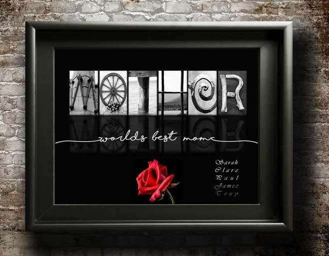 Mothers Birthday Gift, PRINTABLE, Gift For Mothers Day, Birthday Gift For Mom, Best Mom Ever, Mom From Daughter, New Mom Gift, Mom From Kids