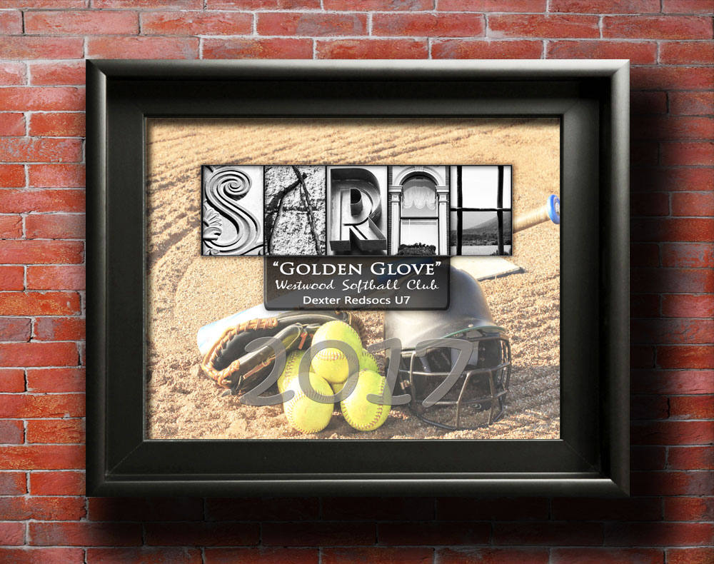 Softball Awards, Softball Player Awards, Softball Player Gifts, Softball Team, Softball MVP, Softball Certificate, Softball Mom