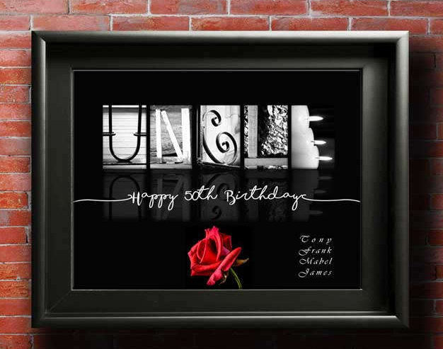 Gift For Uncle, Custom DIGITAL, Birthday Gift For Uncle, New Uncle Gift, Uncle Gifts, Uncle To Be, Promoted To Uncle, Uncle and Niece Gifts