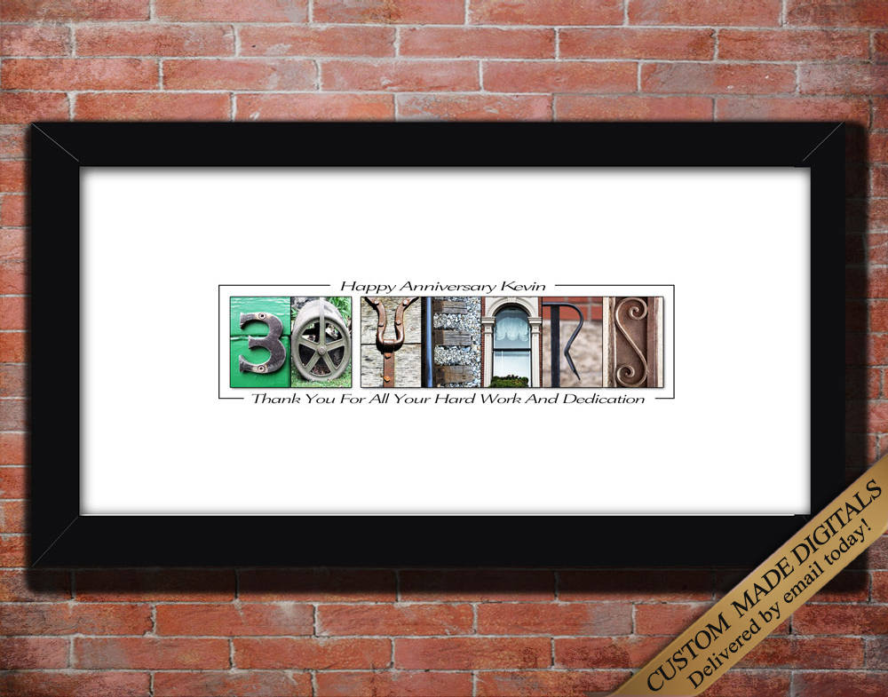 Corporate Letter Art Gifts