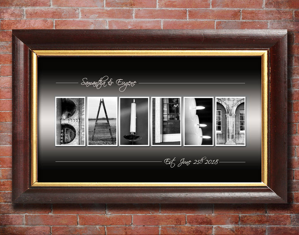 Personalized Wedding Gift, Wedding Gift for Brother, Wedding Gift for Sister