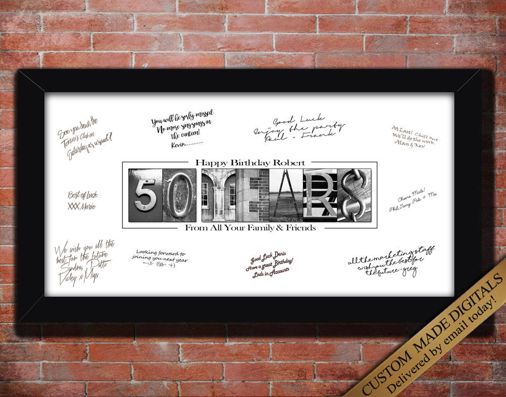 50 YEAR 50th Birthday Gift for Him 50th birthday for Men 50th gift Husband 50th Gift Idea Cheers to 50 years Decorations 50th birthday sign