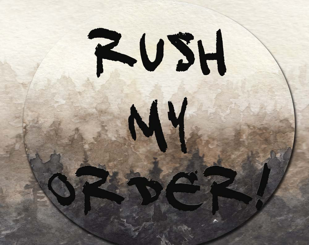 Please RUSH my order  -  I am in a hurry! -   Add To Cart with digital print listing