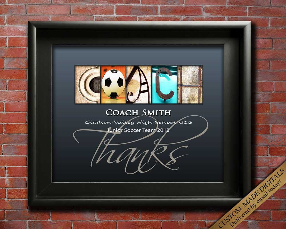 Soccer Coach, Basketball Coach, Hockey Coach, Rugby Coach, Lacrosse Coach, Tennis Coach, Softball Coach, Printable Coach Appreciation Gift