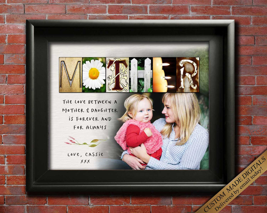 Mother Daughter Gift For Mom Gift for Christmas Mom Gift for Birthday, Mom and Daughter, Mom birthday Gift Mothers Day PERSONALIZED Mom Gift