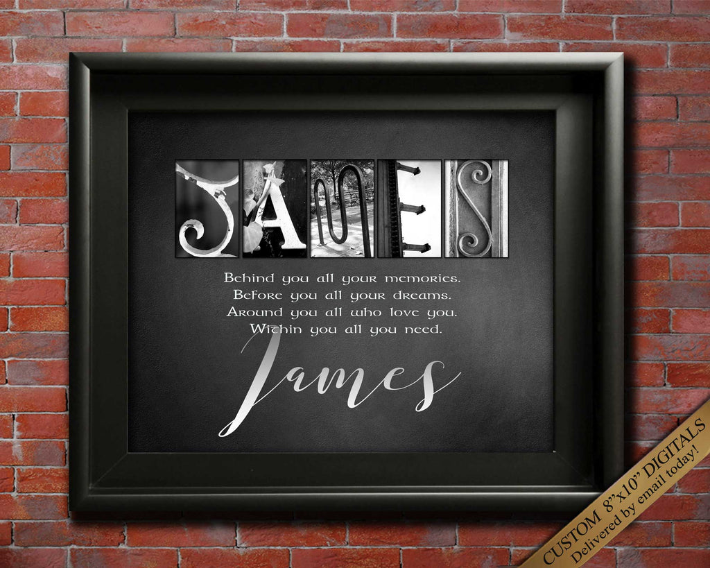 Custom Name Meaning Gifts | Any Name A-Z | Birthday Gift Ideas | First Name Gift Idea For Friends, Coworkers, Son Daughter DIGITAL