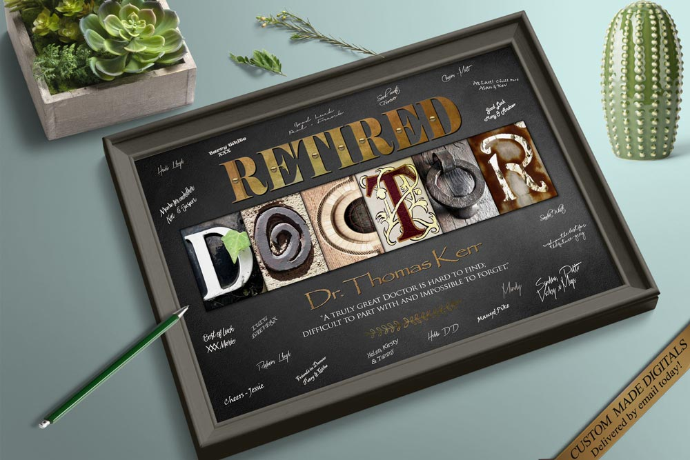 Personalized Doctor Gift, Doctor Gift Ideas, Doctor Retirement Gift, Doctor Graduation Gift, Medical Gifts Medical Student Gift Doctor Party