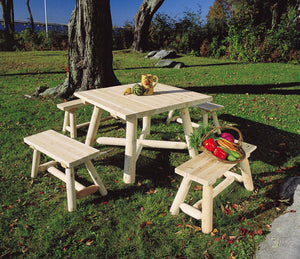 Square Table 5 Piece Set