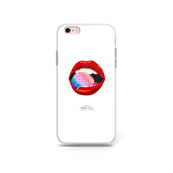Sarai Llamas - A Taste Of My Mind iPhone Case